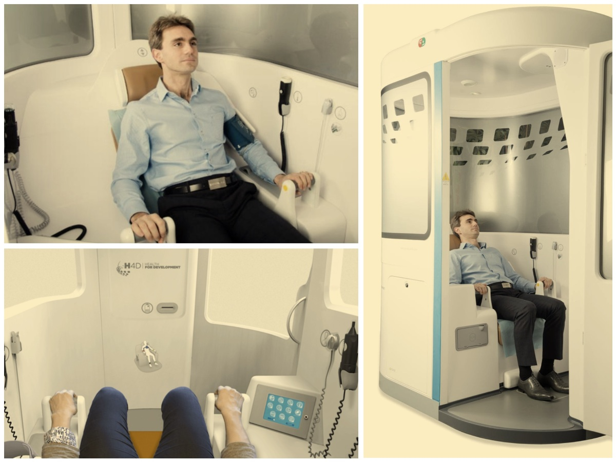 Get Diagnosed In A Telemedicine Kiosk [Video] – about